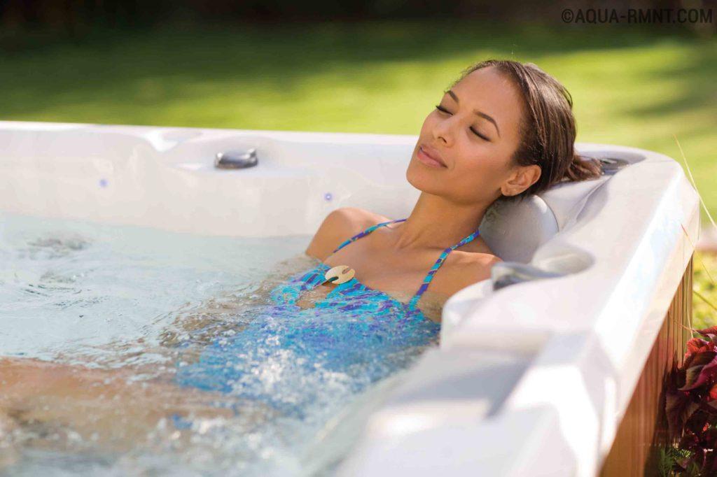 Установка гидромассажных ванн