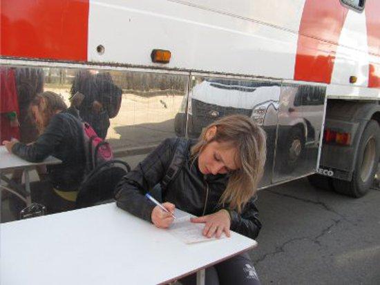Возле памятника Федору Коню смолян бесплатно проверят на ВИЧ