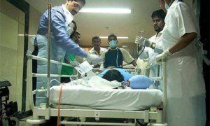 Родные пациента устроили драку в одной из индийских больниц