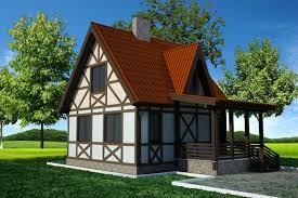 Отделка фасада дачного домика
