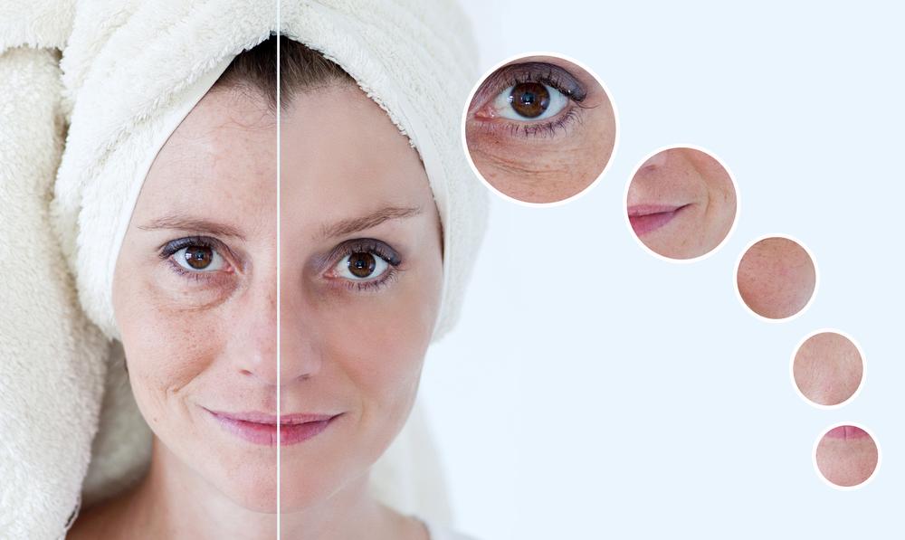 Домашняя косметика для лица с эффектом лифтинга