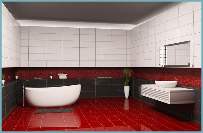 Самостоятельное покрытие стен керамической плиткой в ванной комнате