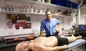 Хирурги будут тренироваться на искусственном «пациенте»