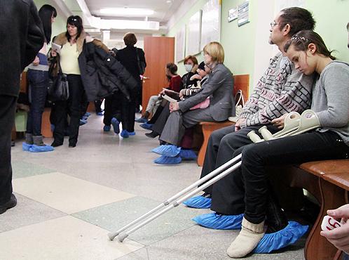 В Смоленске пенсионерка умерла в очереди в поликлинике