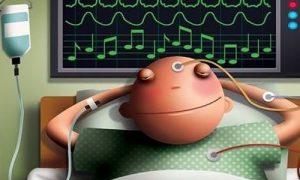 Музыка снижает болевые ощущения