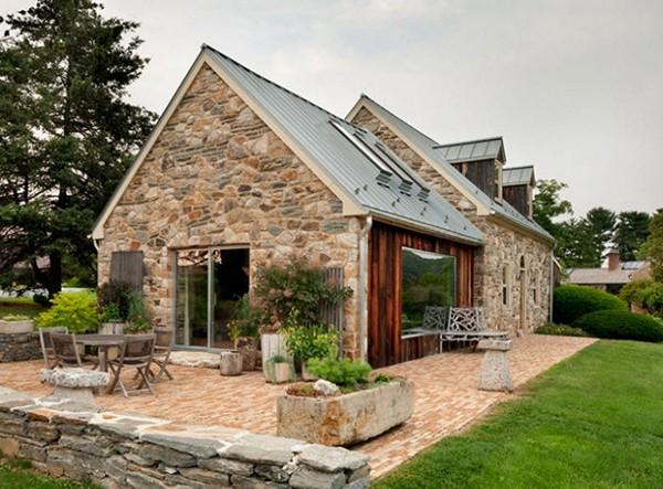 Специфика возведения каменного дома. Проекты домов и коттеджей из кирпича.