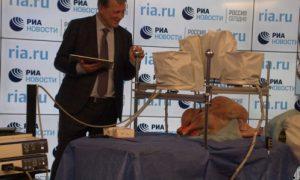 В Москве показали отечественного робота – альтернативу Da Vinci