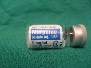 Морфий способствует снижению темпов роста опухоли