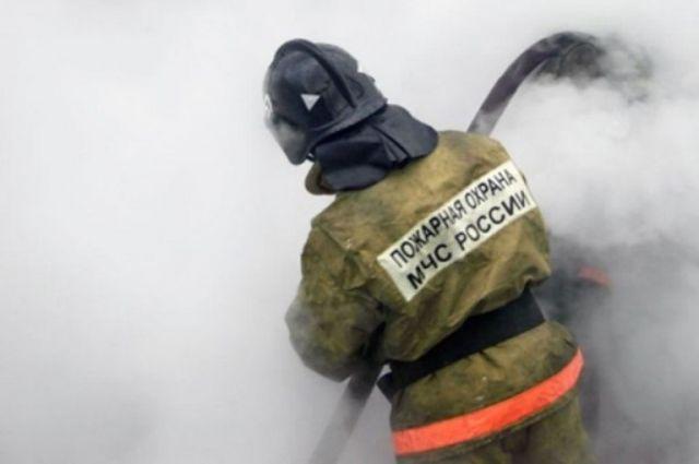 Мужчина погиб на пожаре в селе Первомайском Шумячского района