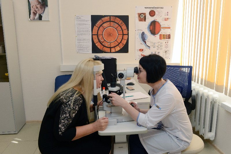 За год в Смоленское отделение Калужского филиала МНТК «Микрохирургия глаза» обратились порядка 18 тысяч пациентов