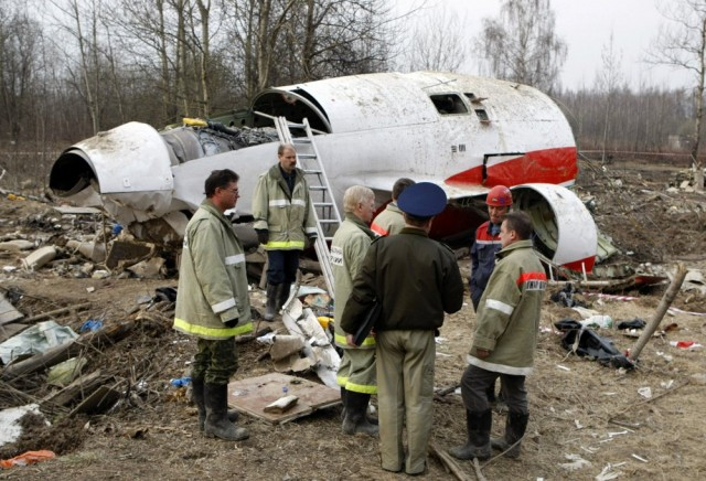 В Польше продолжается паранойя из-за крушения самолета Качиньского под Смоленском