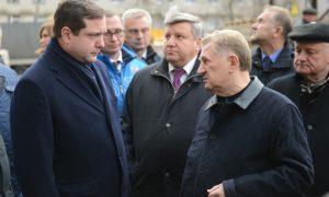 В Смоленске обсудили вопрос завершения строительства перинатального центра