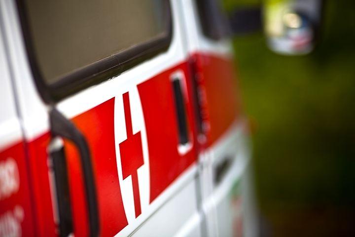 В Смоленской области на трассе М1 «ВАЗ» съехал в кювет: два человека пострадали
