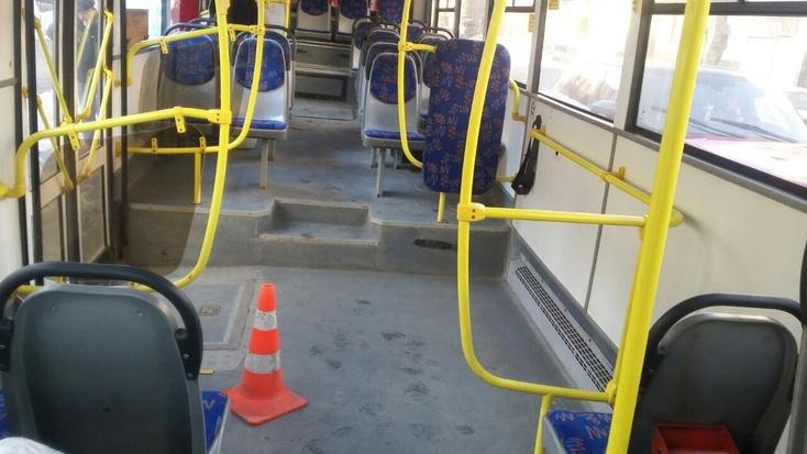 В Смоленске женщина получила травмы, упав в автобусе