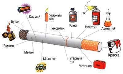 О вреде курения табака