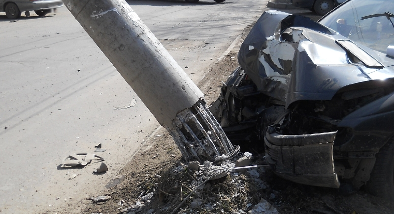 В Смоленске при столкновении двух иномарок пострадал пассажир