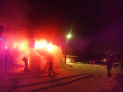 В Смоленской области в пожаре пострадал человек