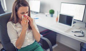 В Смоленской области увеличилось число простуженных