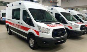 Райцентр Смоленской области получил новый автомобиль скорой медпомощи