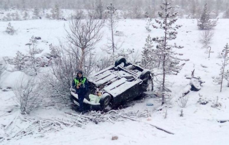 В Смоленской области при вылете иномарки в кювет пострадал пассажир