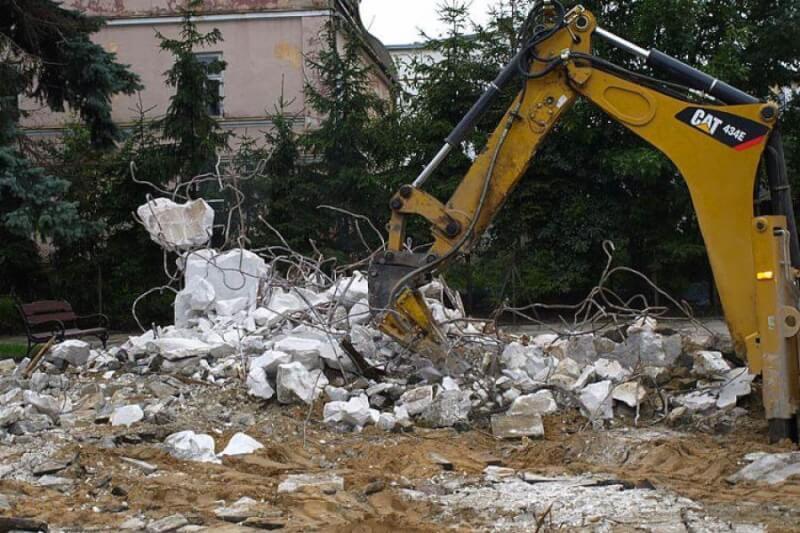 Демонтаж и расчистка полезной площади