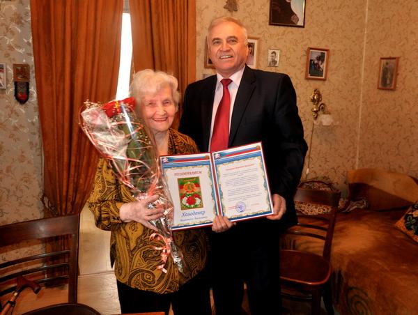 Смолянка отпраздновала 100-летний юбилей