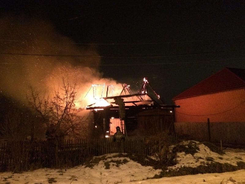 В Смоленской области в пожаре пострадала пенсионерка