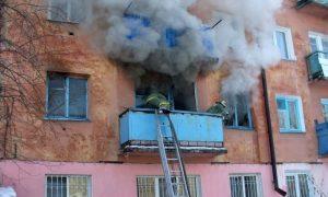 В райцентре Смоленской области при пожаре погибла женщина
