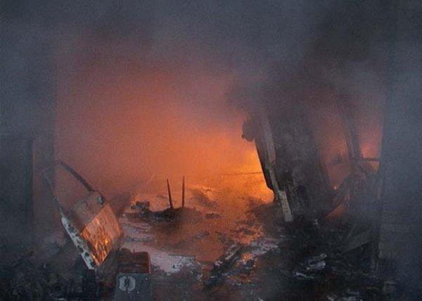 В Смоленской области в гараже чуть не сгорел мужчина