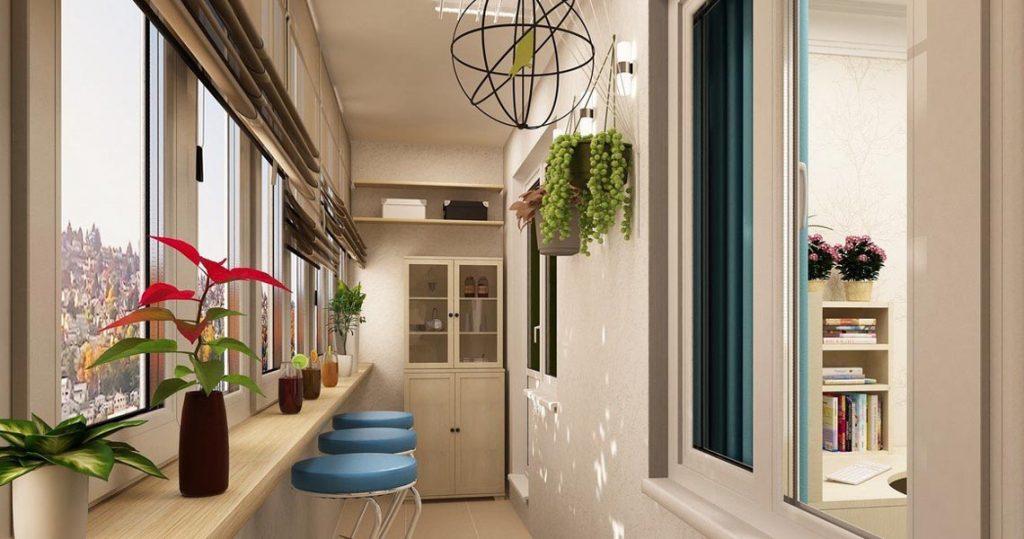 Балкон или лоджия: отдых не выходя из дома