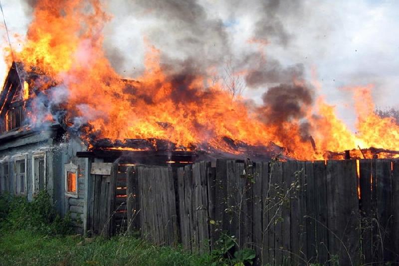 В смоленской деревне сгорел пенсионер