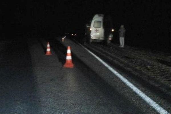 В Смоленской области водитель грузовика сбил пешехода, шедшего по обочине, и уехал