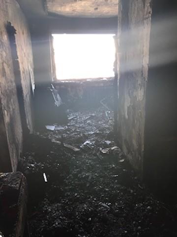 В Вязьме после пожара, в котором пострадал ребенок, ввели режим ЧС локального характера