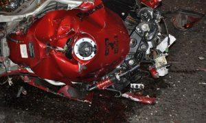 В райцентре Смоленской области в ДТП пострадал мотоциклист