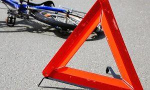 В Смоленской области иномарка сбила ребенка-велосипедиста