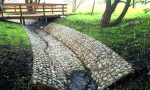 Укрепление береговых склонов водоемов и что для этого нужно