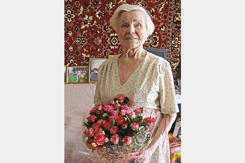 Смолянка отметила 95-летие