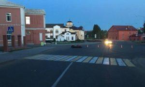 Мотоциклист разбился. Смоленская студентка чуть не погибла в ДТП в Орше