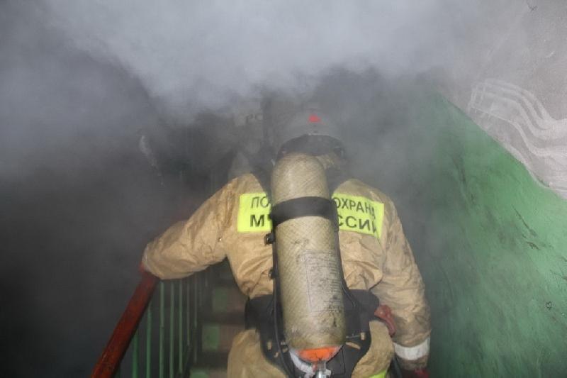 В Смоленске из пожара спасли девушку