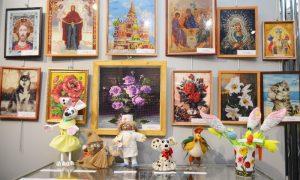 В Смоленске открылась выставка декоративно-прикладного творчества людей с инвалидностью