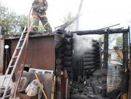 Без пострадавших не обошлось. В райцентре Смоленской области в дачном доме вспыхнул пожар
