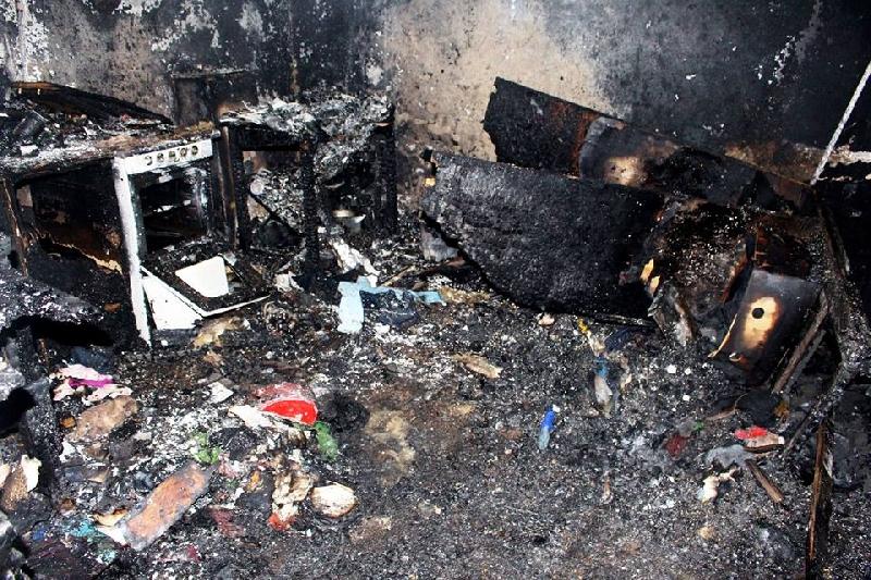 В Смоленской области при пожаре погибла женщина