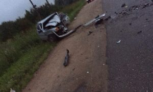 Очевидцы сообщили о смертельном ДТП в Смоленской области