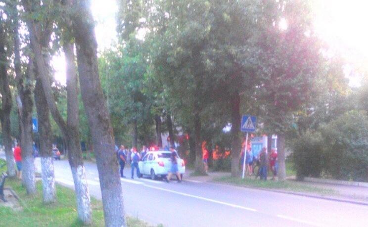 На улице в райцентре Смоленской области, где 15-летний мотоциклист сбил 5-летнего ребенка, установят «лежачих полицейских»