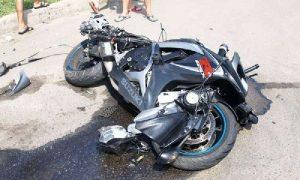 В ДТП в Смоленской области пострадал мотоциклист