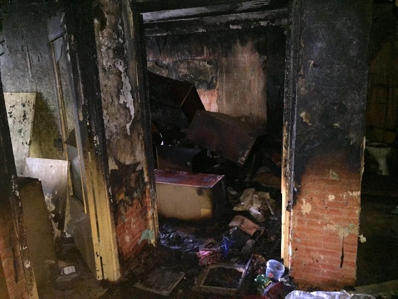 «Неосторожность при курении». Два человека пострадали при пожаре в Смоленской области