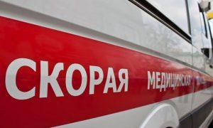 Под Смоленском в страшной аварии на перекрестке пострадала женщина