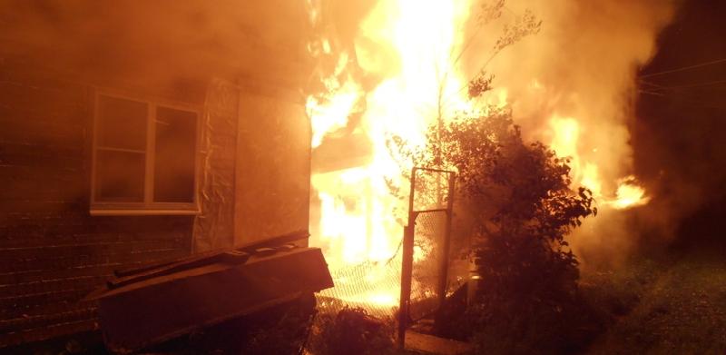 В Смоленской области в огне погибла пенсионерка