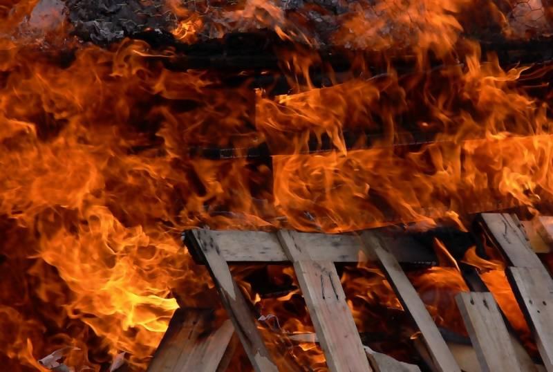 «Спасал нажитое». Смолянин пострадал в пожаре