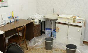 Стала известна судьба залитой дождем детской поликлиники в Смоленске
